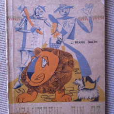 Vrajitorul din oz frank baum ilustrata desene editie veche carte copii povesti - Carte Basme