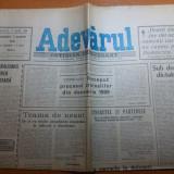 Ziarul adevarul 3 martie 1990- processul criminalilor din decembrie 1989