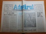 Ziarul adevarul 8 aprile 1990-duminica floriilor