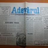 """Ziarul adevarul 2 martie 1990 -""""demonstratie la liber"""" de cristian tudor popescu"""
