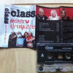 Class pentru dragoste castea audio muzica house dance pop 2004 cat music - Muzica Pop cat music, Casete audio