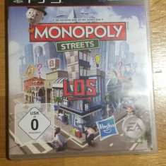 PS3 Monopoly Streets - joc original by WADDER - Jocuri PS3 Electronic Arts, Board games, Toate varstele, Multiplayer