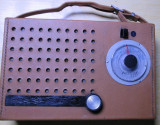 Radio vechi romanesc Electronica de colectie vintage anii 60 Turist  functional