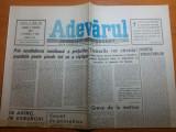 ziarul adevarul 9 martie 1990