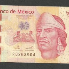MEXIC 100 PESOS 2012 serie N [1] P-124f.1 - bancnota america