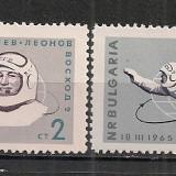 Bulgaria.1965 Cosmonautica-Voschod 2 PC.9 - Timbre straine, Nestampilat