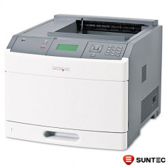 Lot de 25 Imprimante Laser Monocrom Lexmark T654dn 30G0302 + tava suplimentara bonus (cartus 36000 pagini), ambalaj original