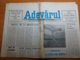 ziarul adevarul 9 iunie 1990-articol despe campionatul mondial din italia