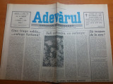 Ziarul adevarul 22 martie 1990-3 luni de la revolutie,articol despre revolutie