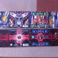 Acid Flash Various Vol 4 2 cd disc 1996 si Vol 6 2 cd techno acid 1 electro