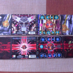 Acid Flash Various Vol 4 2 cd disc 1996 si Vol 6 2 cd techno acid 1 electro - Muzica Chillout