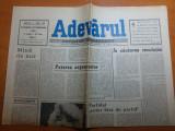 """Ziarul adevarul 25 februarie 1990-articolul """" in cautarea revolutiei """""""
