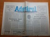 """Ziarul adevarul 21 aprilie 1990- arti. """"procesul de la timisoara"""""""