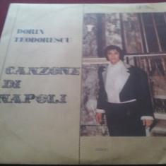 DISC VINIL DORIN TEODORESCU - CANZONE DI NAPOLI - Muzica Opera