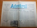 """ziarul adevarul 23 martie 1990-articolul """" veselie trista la sapanta """""""