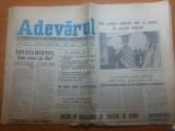 Ziarul adevarul 5 ianuarie 1990-articole despre revolutie