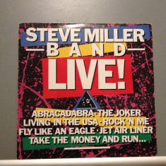 STEVE MILLER BAND - LIVE (1983/MERCURY REC/RFG) - Vinil /Impecabil (NM), universal records