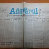 Ziarul adevarul 29 martie 1990 -tentaculele fricii-corespondenta din targu mures