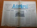Ziarul adevarul 27 aprilie 1990-insemnari din piata universitatii