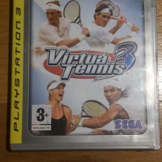PS3 Virtua tennis 3 platinum - joc original by WADDER - Jocuri PS3 Sega, Sporturi, Toate varstele, Multiplayer