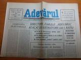 Ziarul adevarul 24 aprilie 1990-miting in piata aviatoriilor
