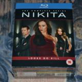 Film - Nikita - Complete Series [Sezoanele 1-4, 13 Discuri Blu-Ray], release UK