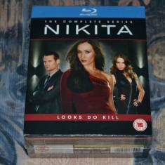 Film - Nikita - Complete Series [Sezoanele 1-4, 13 Discuri Blu-Ray], release UK - Film serial Altele, Actiune, Engleza