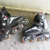 Role,rolere,inline skates,roti din silicon,Max Fit,marime 39
