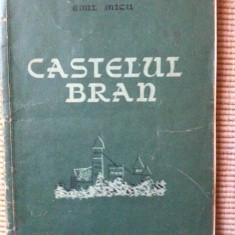 Castelul bran emil micu ilustrata foto carte hobby istorie castel - Carte Istorie