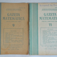 Gazeta matematica 1984 Nr. 3, 4, 5, 6, 9, 11 - Culegere Matematica