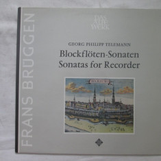 Telemann - Sonatas for recorder _ vinyl, LP, Germania - Muzica Clasica, VINIL