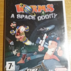 Wii Worms a space oddity - joc original PAL by WADDER - Jocuri WII Thq, Strategie, 3+, Multiplayer