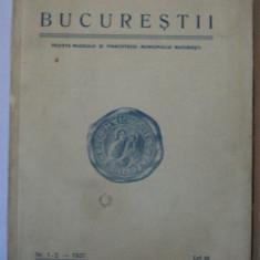 Bucurestii Revista muzeului si pinacotecei Bucuresti 1937 , album pinacoteca