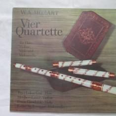Mozart-Vier Quartette Für Flöte, Violine, Viola Und Violoncello_vinyl, Lp, Elvetia - Muzica Clasica Altele, VINIL
