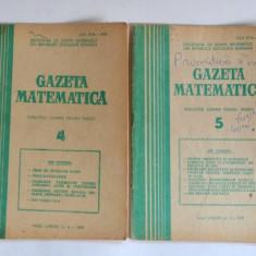 Gazeta matematica 1979 Nr. 3, 4, 5, 7, 10, 12 - Culegere Matematica