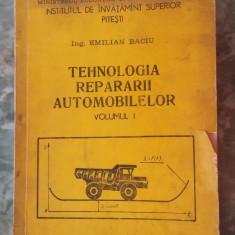 TEHNOLOGIA REPARARII AUTOMOBILELOR-  EMILIAN BACIU ., Alta editura