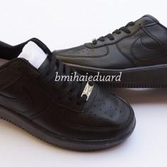 ADIDASI NIKE AIR FORCE 1 NEGRU L - Adidasi dama Nike, Culoare: Din imagine, Marime: 36, 37, 40, Piele sintetica