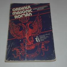 HORIA NESTORESCU BALCESTI - ORDINUL MASONIC ROMAN - Carte Hobby Masonerie