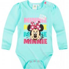 Body cu maneca lunga Disney Minnie turcoaz
