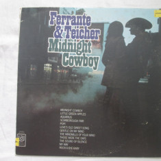 Ferrante & Teicher – Midnight Cowboy _ vinyl, Lp, album, SUA - Muzica soundtrack Altele, VINIL