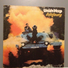 URIAH HEEP - SALSBURY (1970 /ISLAND REC /HOLLAND) - Vinil /Impecabil/Vinyl (NM) - Muzica Rock universal records