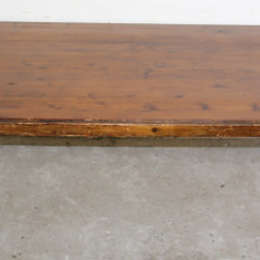 Masa din lemn masiv 144X70 cm; Masuta de cafea Vintage - Masa living