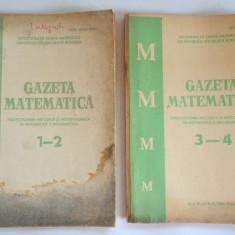 Gazeta matematica - perfectionare in matematica si informatica 1983 (4 numere) - Culegere Matematica