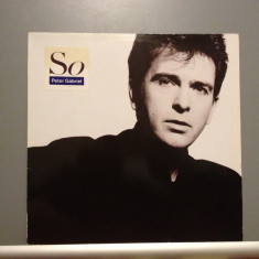 PETER GABRIEL (Genesis) - SO (1986 /VIRGIN REC /RFG) - Vinil/Rock/Impecabil (NM) - Muzica Rock virgin records