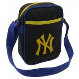 Geanta New York Yankees Gadget - Originala - Anglia - Dimensiuni W20 x H28 x D8, Geanta tip postas