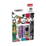 Memorie USB Emtec M700 16GB USB 2.0 Joker vs Batman Multicolor
