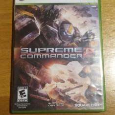 Joc XBOX 360 Supreme commander 2 original Free Zone / by WADDER - Jocuri Xbox 360, Actiune, 16+, Single player