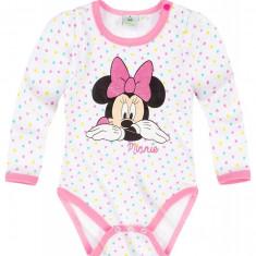 Body cu maneca lunga Disney Minnie alb