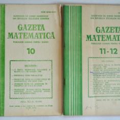 Gazeta matematica 1980 Nr. 2, 3, 4, 5, 6, 7, 8, 9, 10, 11, 12. - Culegere Matematica