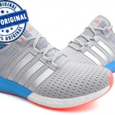 Adidasi dama Adidas CC Gazelle Boost - adidasi originali - running - alergare, Culoare: Gri, Marime: 36 2/3, Textil